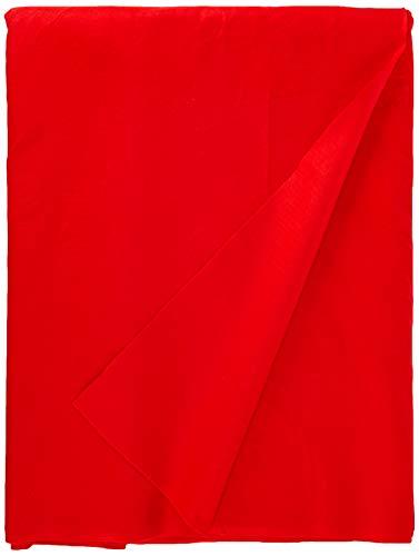 Dalston Mill Fabrics Tessuto, Acrilico, Rosso Vero, 9 m