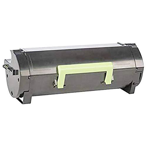 Caja de tóner MS317 compatible con los cartuchos de tóner originales Lexmark 51B2000 para Lexmark MS317 MS417 MS517 Impresora DN | Cartuchos para fotocopiadoras de alta capacidad 5000 páginas, negro