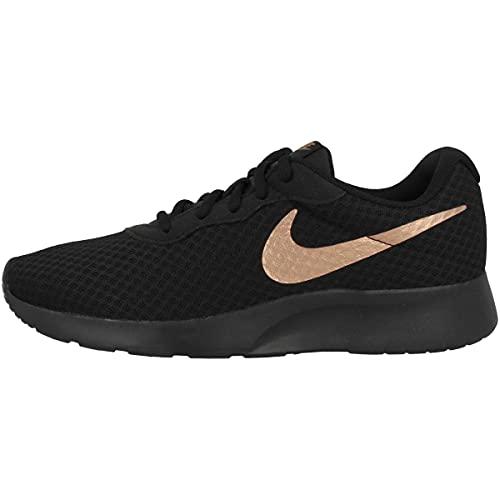 Nike Damen Wmns Tanjun Gymnastikschuhe, Schwarz (Black/Mtlc Red Bronze 005), 38 EU
