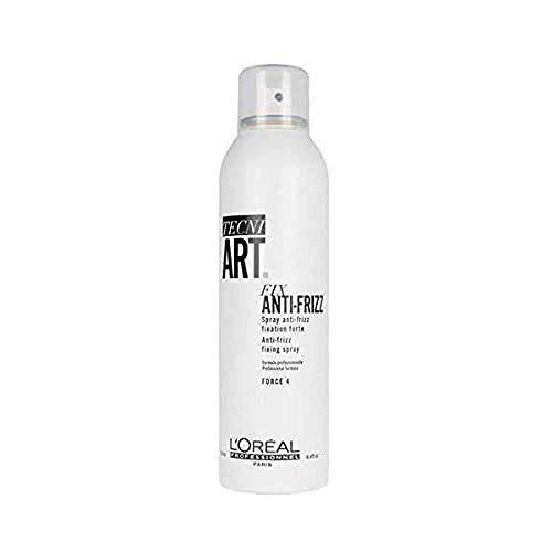 L'Oréal Professionnel | TECNI.ART | Fix Anti-Frizz Hair Spray | Controls the Look of Frizz | 250 ml