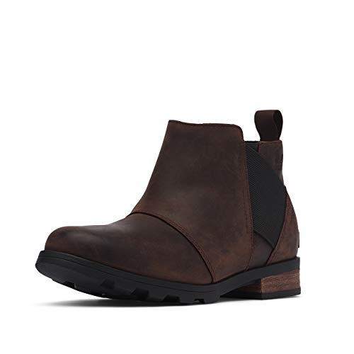 Sorel Women's Emelie Chelsea Boot - Light and Heavy Rain - Waterproof - Cattail - Size 9