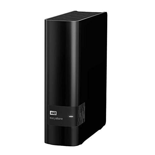 WD Easystore External USB 3.0 12TB Hard Drive - Black