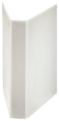 Esselte - Archivador de 4 anillas en D (extra ancho, A4+, 40 mm), color blanco
