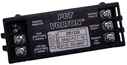 pct automotive split charge relay zr1220 amazon co uk car tec3m tec3m self switching dual charge relay