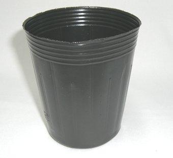 ポリポット深型 9cm 黒 100個