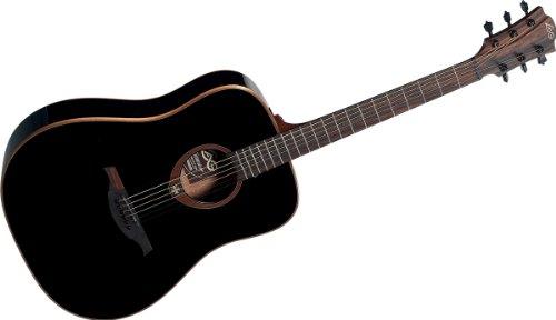 LAG T100D - Guitarras acústicas color negro