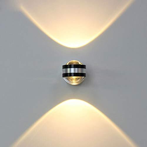 Lámparas de pared de Springhua Arriba Abajo la lámpara de pared llevada de interior moderno, la decoración del hotel de Luz Salón dormitorio del fondo de la cabecera de imagen de TV lámpara de pared d