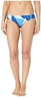 La Blanca Women's Tangier Side Shirred Hipster Bkini Bottom - Blue