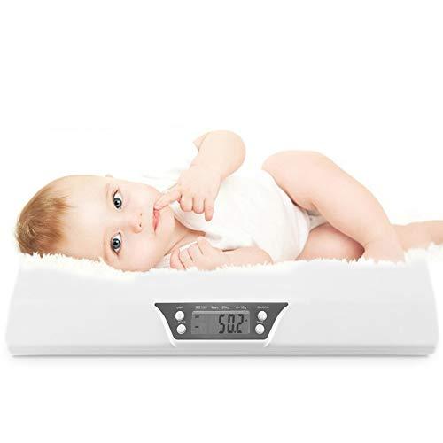 Elektronische babyweegschaal, LCD digitale weegschaal, gewichtingsweegschaal, mini-huisdierweegschaal, multifunctioneel, intelligent alarm voor kinderen en kinderen, lichaamsgewicht meter
