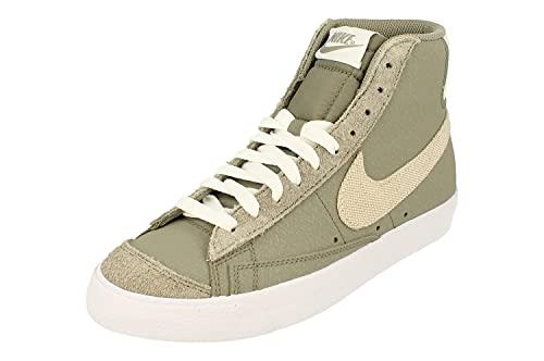 Nike Blazer Mid 77 Uomo Trainers DH4106 Sneakers Scarpe (UK 6 US 6.5 EU 39, Light Army Sea Glass White 300)
