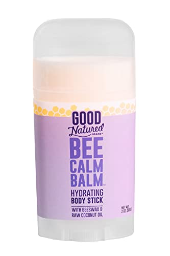 Good Natured Brand Bee Calm Balm Hydrating Body Stick with Beeswax & Raw Coconut Oil - 2oz - All-Natural, Moisturizing and Soothing