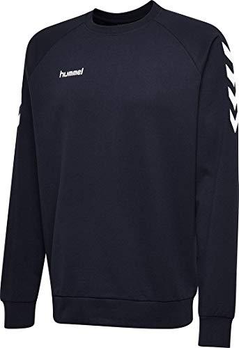 Hummel Herren Hmlgo Cotton Sweatshirt, Marine, XL EU
