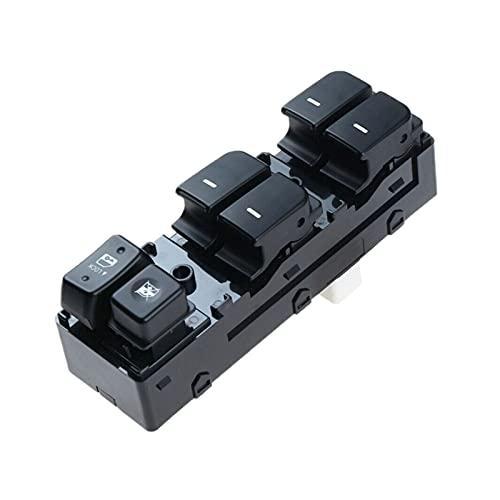 zhuzhu Coche delantero izquierdo Power Master Window Switch 14 Pin Fit para KIA FORTE Cerato 2011-2012 93570-1x000 935701x000 (Color : Black)