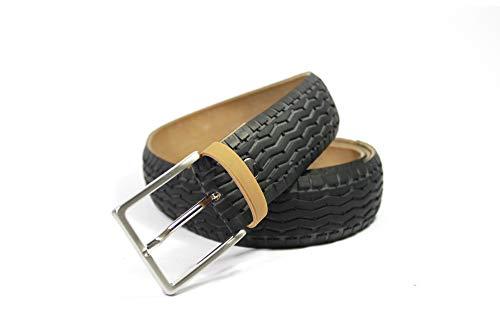MNMUR - Cinturón de neumático reciclado de bicicleta. Tamaño: M/L