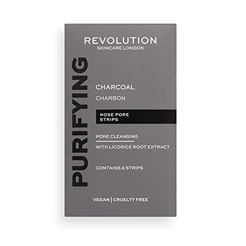 Makeup Revolution Skincare Pore Cleansing Charcoal Nose Strips (1420891)