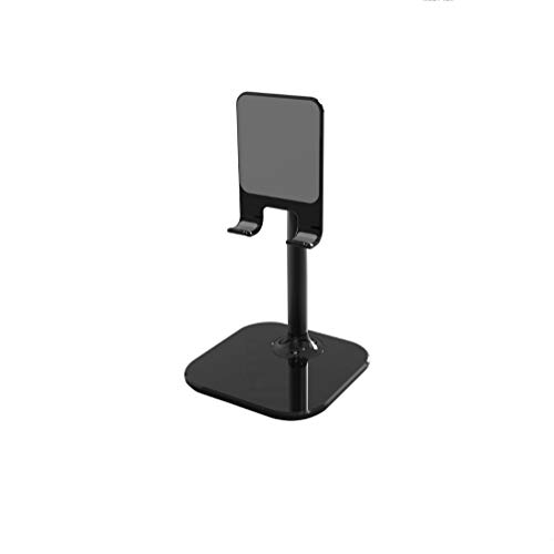 andi Adjustable Cell Phone Holder, Foldable Tablet Stand Mobile Phone Mount for Desk Compatible with Samsung Galaxy ipad Mini iPhone X Xr Xs max All Smartphones (White)