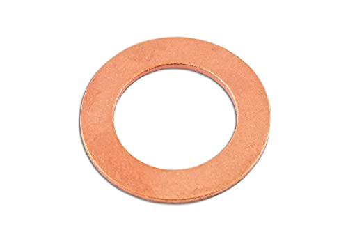 Connectez - 31715 Rondelle Bouchon de Carter et de cuivre de 16,3 x 25 x 2,0 mm PK 50