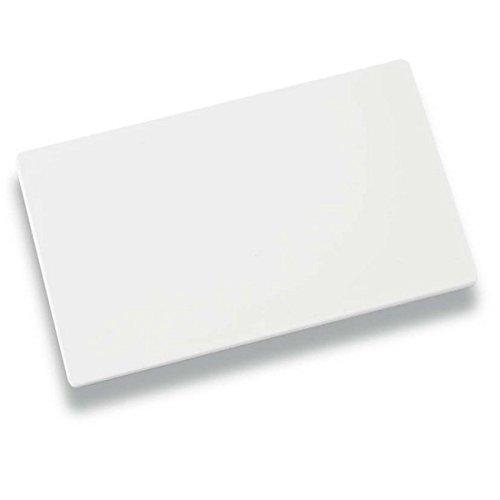 Louis Tellier NPP5 - Tagliere, 50 x 30 x 2 cm, Colore: Bianco