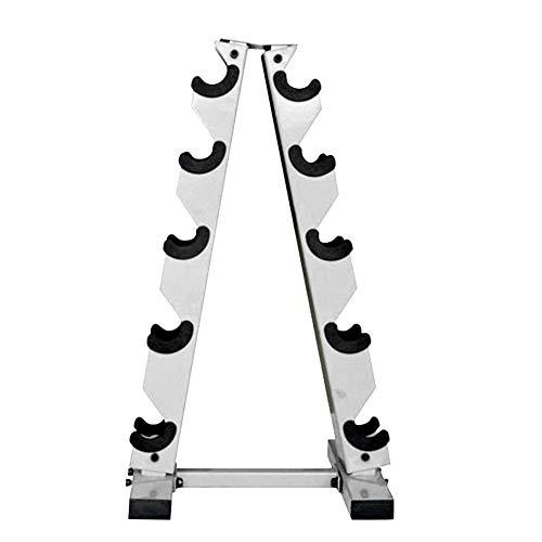 Goodtimera Kurzhantel Rack Professional Hantelständer Hantelablage, 5-stufiger Gewichtsregal-Ständer Für Das Heim-Gefühl, 200kg Belastbarkeit