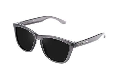 HAWKERS Gafas de Sol, Crystal Black · Dark, One Size Unisex Adulto