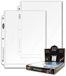 8x10 Photo Pages - 50 Count Pack