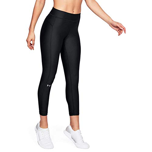 Under Armour Heatgear Armour Ankle Crop Calzoni Alla Pescatora, Donna, Nero, MD