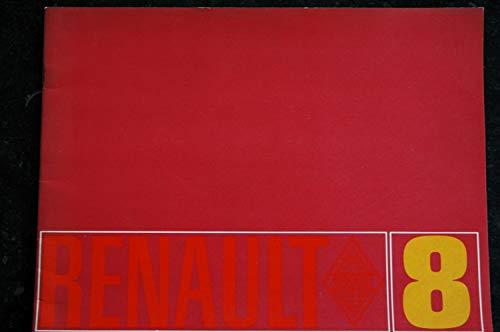 Renault 8 - juin 1962 - brochure commerciale - Concessionnaire Ferreyra - 20 pages couleur