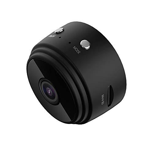 Lilon Mini-Kamera, kabellos, HD 720P, Überwachungskameras mit Fernbedienung, WiFi, intelligente Bewegungserkennung, magnetische Funktion, Nachtsichtkamera