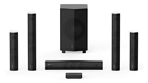 Enclave CineHome PRO 5.1 HD Wireless Home Theater Surround Sound System for TV - THX, 24 Bit Dolby...