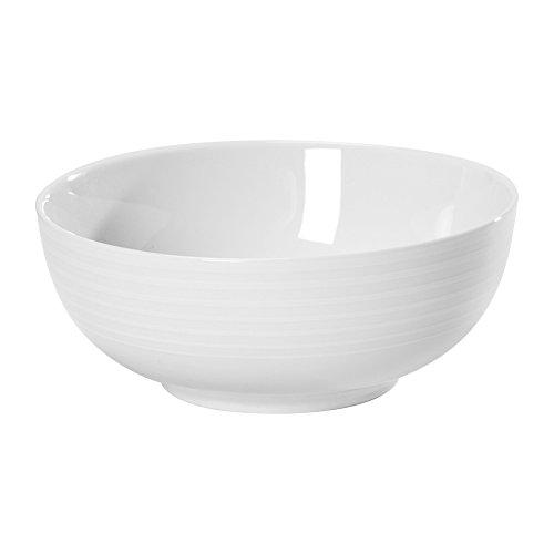 Mikasa Cheers White Spiral Cereal Bowl - White