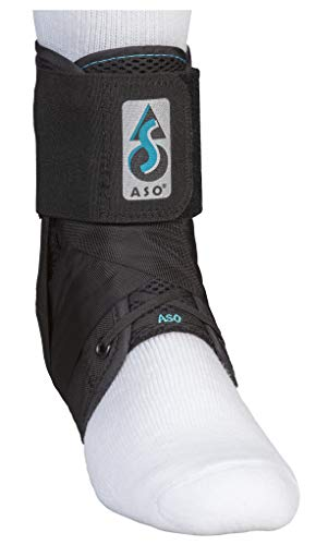 Med Spec 264014 ASO Ankle Stabilizer, Black, Medium