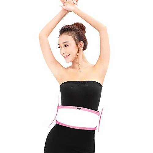 NSWD Cinturón Adelgazante Eléctrico Estimulador Muscular Abdominales Cinturón De Tonificación Vibratorio para...