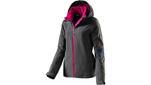Ziener LJ10 Jacket 146102 Aquashield Skijacke Damen dark melange 40