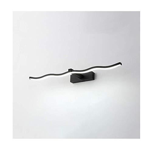 Badezimmerspiegel Lampen Led Spiegel Frontleuchte Moderne Kreative Welle Kommode Wandleuchte Badezimmer Schlafzimmer Kunst Tiffany Zeitgenössische Wandleuchte Leuchten Flur Hause Badezimmer Ce Authen