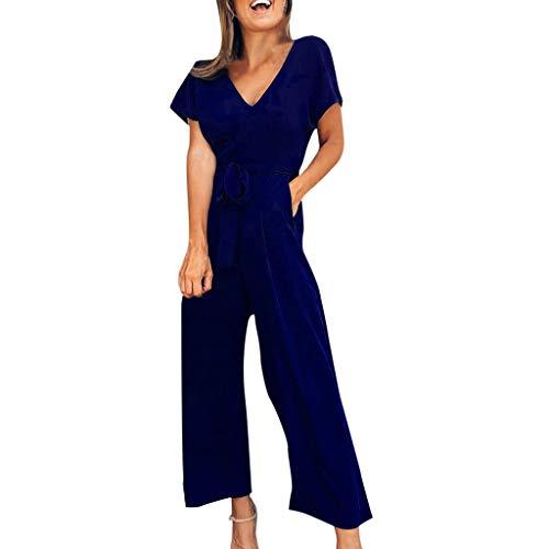 Femmes Court Playsuit Jumpsuit Overall Pantalons Romper Costume D/'été Mini robe de plage