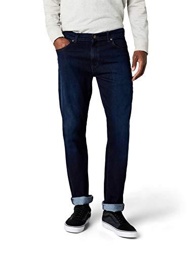 Wrangler Herren Texas Tonal Straight Jeans, Blue Stroke, 36W / 34L