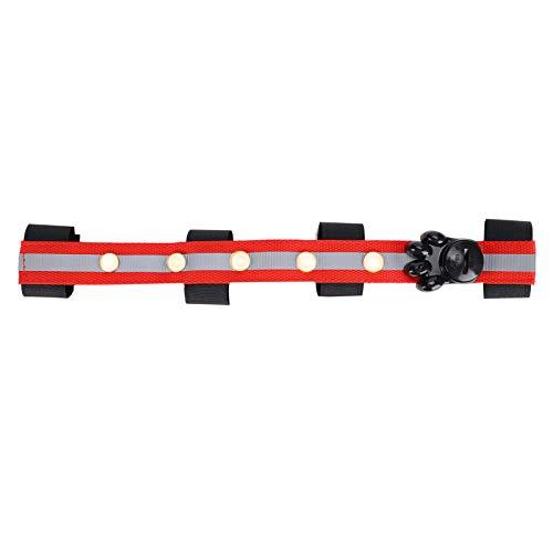 Nannday 【𝐏𝐫𝐨𝐦𝐨𝐜𝐢ó𝐧 𝐝𝐞 𝐒𝐞𝐦𝐚𝐧𝐚 𝐒𝐚𝐧𝐭𝐚】 Cinturón Ligero de Cabezas de Caballo, Tira de luz LED para Caballos de Suministro Deportivo, para cinturón de Cabezas de Caballo