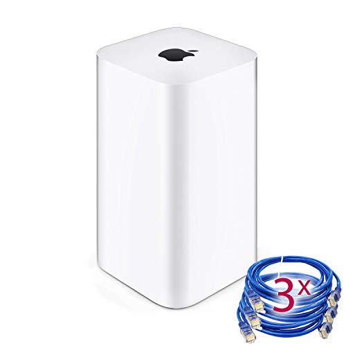 apple routers Airport Extreme (6th Generation) + 3 Ethernet Cables