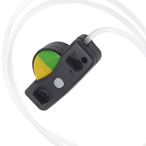 Cordones de zapatos con luz LED, cordones de zapatos con luz LED intermitentes, transporte de luz para correr de noche para conciertos para grandes festivales(23*13*2cm-Green and yellow mixed)