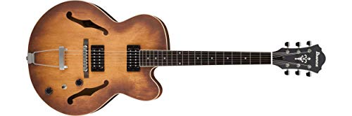 Ibanez Artcore AF55 Hollow-Body Electric Guitar Tobacco Flat AF55TF