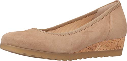 Gabor Zapatillas de bailarinas cerradas Comfort Sport para mujer., color Beige, talla 38 EU
