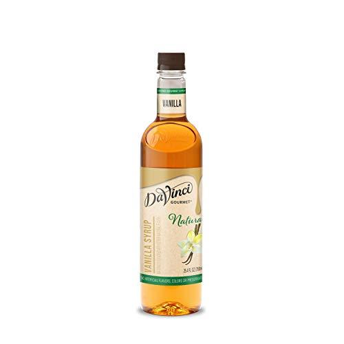 DaVinci Gourmet Naturals Vanilla Syrup, 25.4...