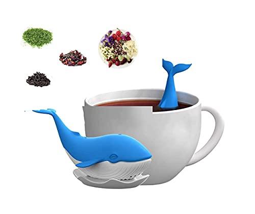 Whale Silicon Loose Leaf Tea Infuser