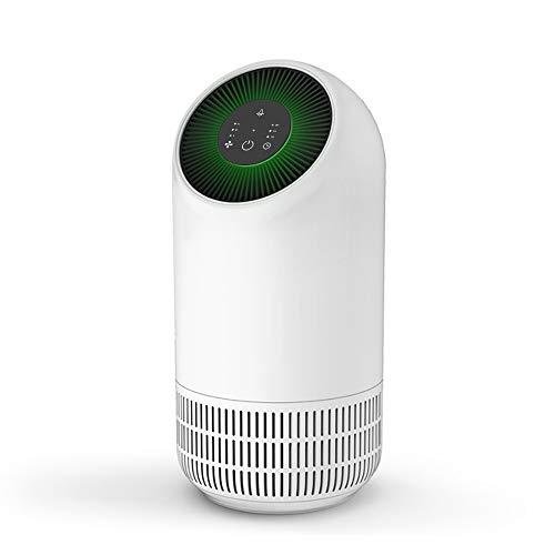 LFDZSW Purificador de Aire para el hogar, Elimina alergias al Polen Humo de Polvo, Modo de suspensión silencioso, purificador de Aire Limpiador para hogar o habitación pequeña