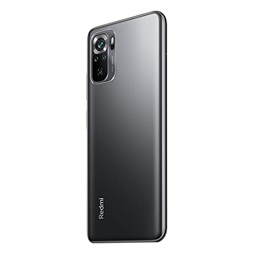 Redmi Note 10S (Shadow Black, 6GB RAM, 128GB Storage) - Super Amoled Display   64 MP Quad Camera  NCEMI Offer on HDFC Cards   6 Month Free Screen Replacement (Prime only)   Alexa Built in