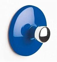 """Spirella Handdoekhaak, zelfklevend, badkamer en keuken, """"bowl"""", handdoekhouder, kleerhaak zonder boren, Ø5 cm, blauw"""