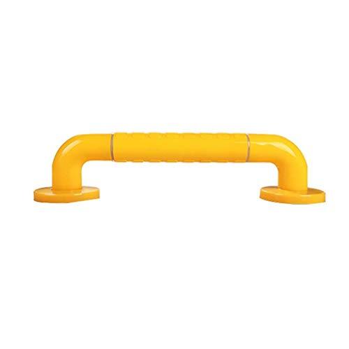 HJXSXHZ366 Hulpmiddel voor ouderen, hulpleuning, badkamer, badkamer, leuning voor ouderen, onbreekbaar, gezondheid handgreep, geel wit