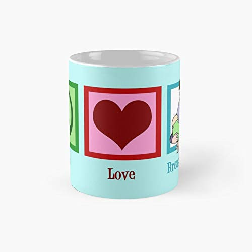 Peace Love Breastfeeding Classic Mug