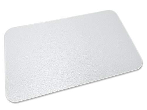 Transparente Bodenschutzmatte, 120 x 150 cm, Sonderform L, aus Makrolon®, Schutzmatte für Parkett-, Laminat- & PVC-Böden, 17 weitere Größen wählbar