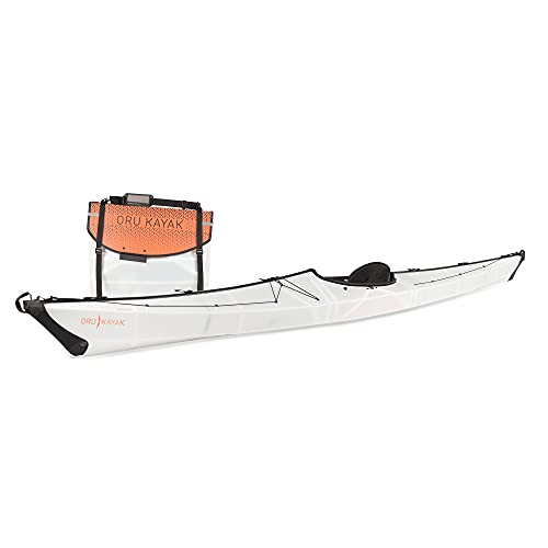 Oru Kayak 1-Person Foldable Kayak – Coast XT Folding Kayak Perfect for Travel and Rugged Waters – Stable, Durable, Lightweight Adventure Kayak – Lake, River, and Ocean Kayaks for Adults and Youth